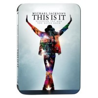 Michael Jackson'S This Is It Special Edition Blu Ray Steelbook + Cards