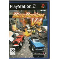 Micro Machines V4 In Edizione Italia Ps2