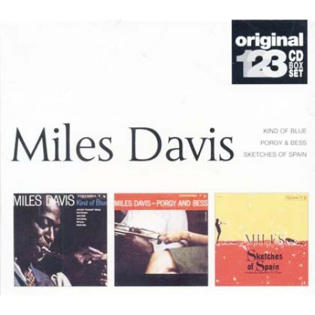 Miles Davis - Kind Of Blue/Sketches Of Spain/Porgy & Bess Box 3X Cd