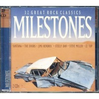 Milestones - Santana/Doors/Hendrix/Steve Miller/Beach Boys 2x Cd