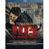 Mission Impossible La Quadrilogia - Tom Cruise Box 4 Blu Ray