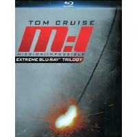 Mission Impossible Extreme Trilogy Box 3X Blu Ray  Tom Cruise/De Palma