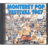 Monterey Pop Festival 1967 - Grateful Dead/Hendrix/Steve Miller Band Cd