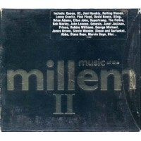 Music Of The Millennium Ii - Queen/U2/Oasis/Blur/Pink Floyd/Sting Box 2x Cd