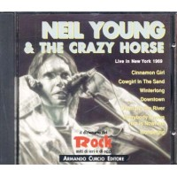 Neil Young & The Crazy Horse - Live In New York 1969 Italy Press Cd