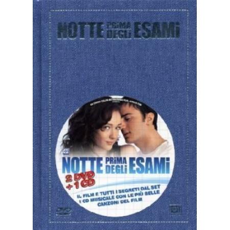 Notte Prima Degli Esami Deluxe Digipack Cd Colonna Sonora + 2x Dvd Eccellente