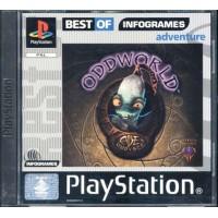 Oddworld Abe'S Oddysee Uk Ps1