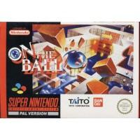On The Ball Snes Nintendo Pal Uk Edition E Scatola Perfetti