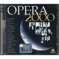 Opera 2000 - Pavarotti/Domingo/Callas/Carreras/Ricciarelli/Tebaldi Cd