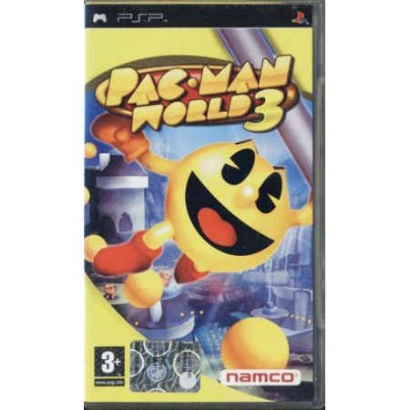 Pac-Man World 3 In Prima Psp