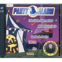 Party Alarm - Run Dmc/Zappa/Blondie/Bellini/Deep Purple/Village People 2x Cd Com