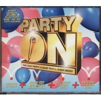 Party On - Pink/Elvis Vs Jxl/Europe/Los Del Rio/Village People Box 4X Cd