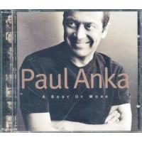 Paul Anka - A Body Of Work Cd