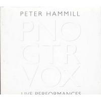Peter Hammill - Pno Gtr Vox Live Performances Cd