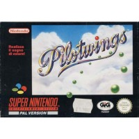 Pilotwings Ed Italiana Snes Nintendo Pal E Scatola Eccellente