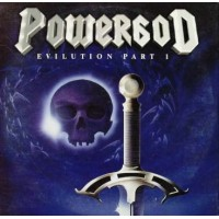 Powergod - Evilution Part I Full Promo Album Cardsleeve Cd