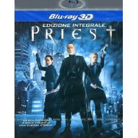 Priest Real 3D - Paul Bettany Blu Ray