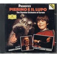 Prokofiev - Pierino E Il Lupo Roberto Benigni/Claudio Abbado Cd