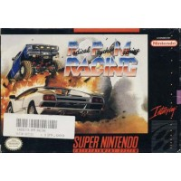 Radical Psycho Machine Racing Snes Nintendo Ntsc User'S Guide & Excellent Box