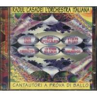 Raoul Casadei - Cantautori A Prova Di Ballo (Vasco/Zero/Zucchero/Ligabue) cd
