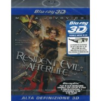 Resident Evil: Afterlife Real 3D - Milla Jovovich Blu Ray