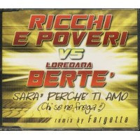 Ricchi E Poveri Vs Loredana Berte' - Sara' Perche' Ti Amo Fargetta Remix Cd