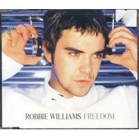 Robbie Williams/Take That - Freedom Italy Press Cd