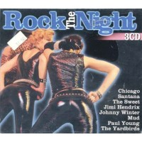 Rock The Night - Hendrix/Santana/Yardbirds Box 3 Cd
