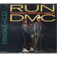 Run Dmc - Faces/Back From Hell Remix Single Cd