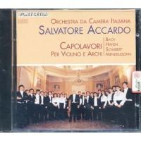 Salvatore Accardo - Capolavori Per Violino E Archi Fonit Cetra Prima Stampa Cd