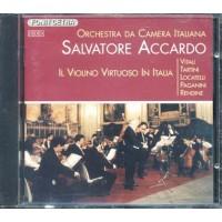 Salvatore Accardo - Il Violino Virtuoso In Italia Fonit Cetra Prima Stampa Cd