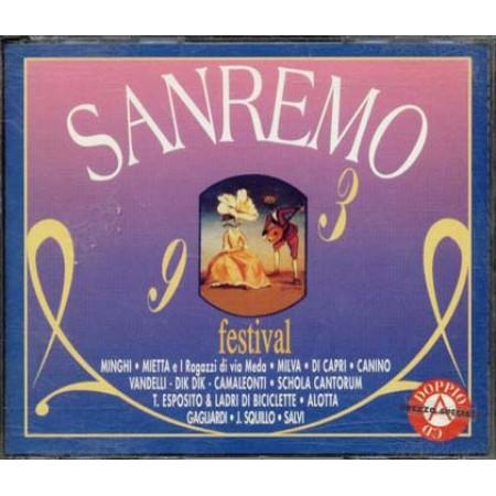 Sanremo 1993 Festival - Mietta/Minghi/Schola Cantorum Box 2x Cd