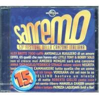 Sanremo 2003 - Eiffel 65/Britti/Negrita/Cammariere/Minghi/Laquidara Cd
