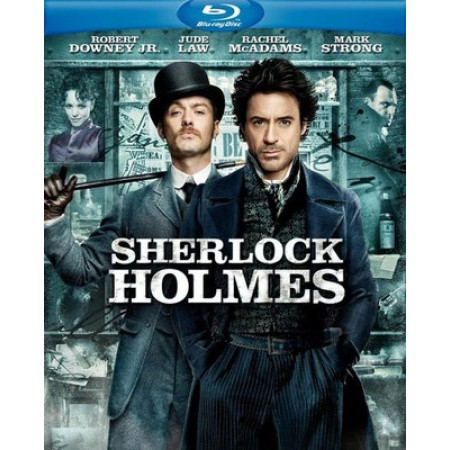 Sherlock Homes - Robert Downey Jr 1A Stampa Doppio Blu Ray/Dvd/E-Copy