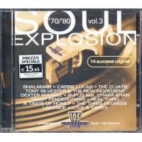 70/'80 Soul Esplosion - Shalamar/Pendergrass Cd