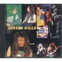 Speed Kills Aa Vv - Exodus/Dark Angel/Slayer/Venom/Bathory/Therion/Sarcofago Cd