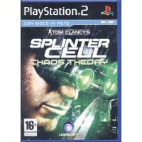 Splinter Cell Chaos Theory 1A Stampa Ps2