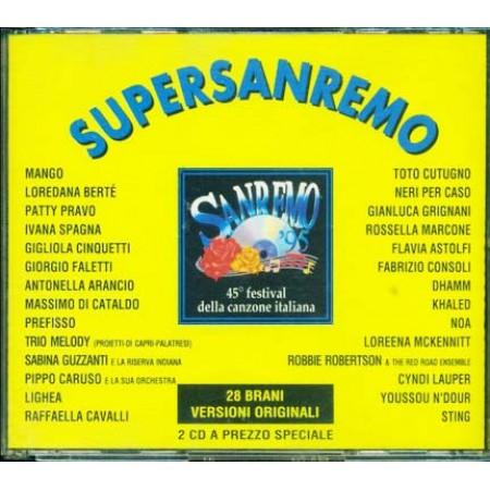 Sanremo Super 95 1995 - Mango/Pravo/Berte'/Spagna/Faletti/Grignani 2x Cd