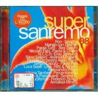 Sanremo 1998 Super - Ron/Spagna/Jannacci/Lisa/Salemi/Paola & Chiara 2x Cd