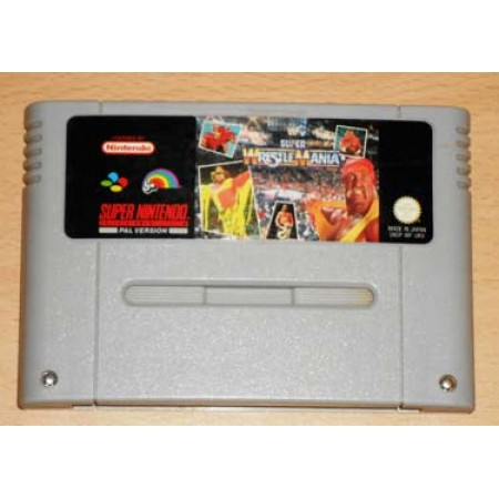 Super Wrestlemania Snes Pal Cartuccia