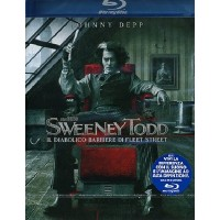 Sweeney Todd - Johnny Depp/Tim Burton Blu Ray