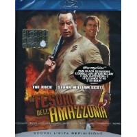 Il Tesoro Dell' Amazzonia - Dwayne Johnson Blu Ray