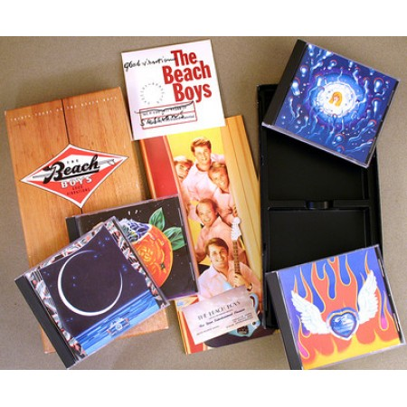 Beach Boys - Thirty Years Good Vibrations Box Book & 5X Cd