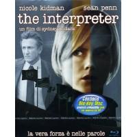 The Interpreter - Sean Penn/Nicole Kidman Blu Ray Steelbook