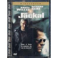 The Jackal - Richard Gere/Bruce Willis Dvd Super Jewel Box