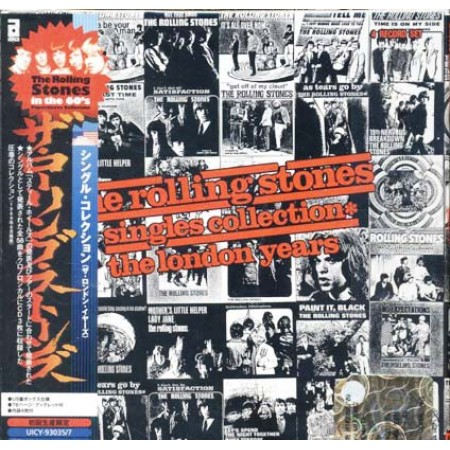 The Rolling Stones Singles Collection London Years Japan