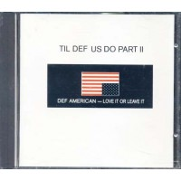 Til Def Us Do Part Ii (Black Crowes/Danzig/Slayer) Cd