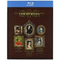 Tim Burton Collection Fabbrica Di Cioccolato/Sweeney Todd Box 3 Blu Ray Perfetti