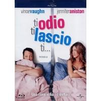Ti Odio Ti Lascio Ti... Vince Vaughn/Jennifer Aniston Blu Ray