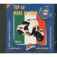 Top '60 Made In Italy - Vianello/Pavone/Di Capri/Celentano/Mina/Gino Paoli Cd